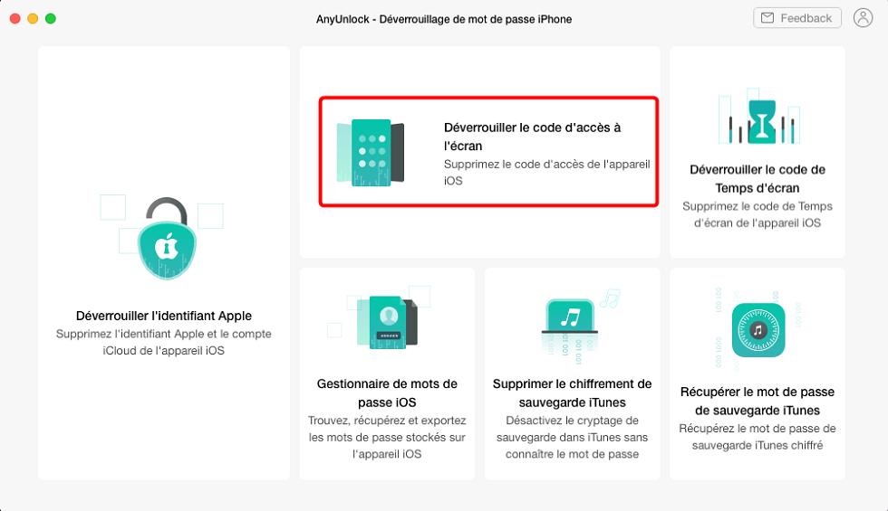 Comment débloquer son iPhone sans mot de passe