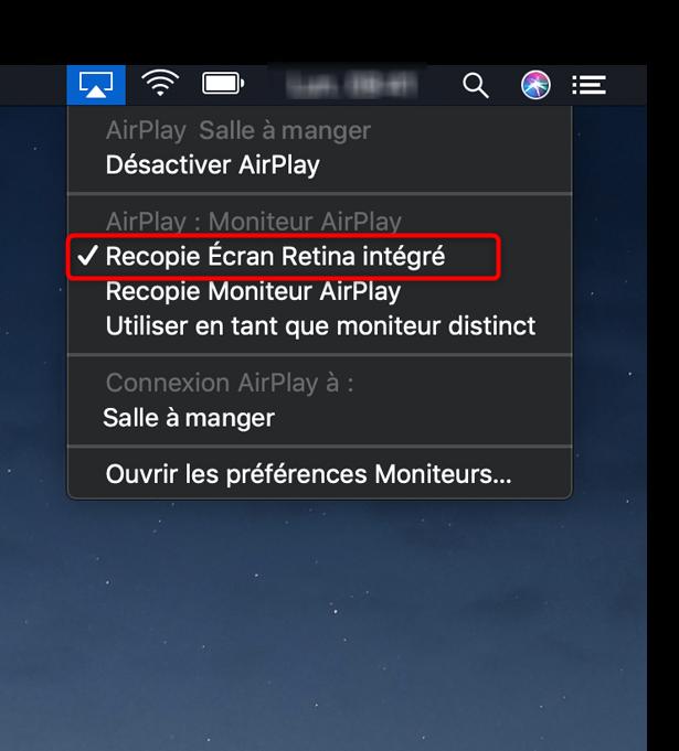 Apparaitre l'écran de l'iPad sur le téléviseur
