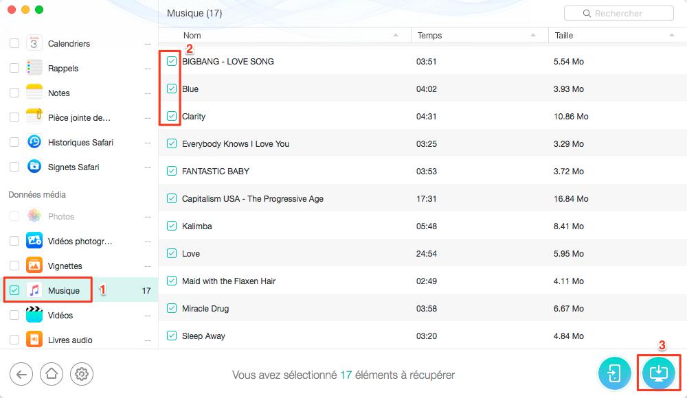 Apple musique perdue après la mise à jour iOS12/11