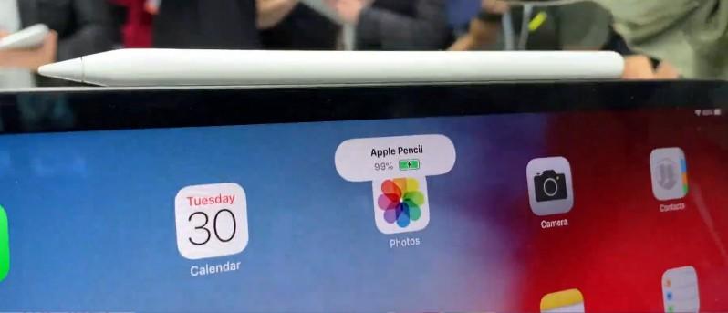 Comment savoir si Apple pencil est chargé