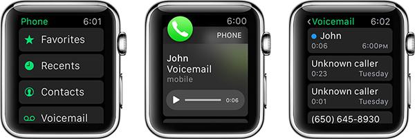 Astuces pour Apple Watch - écouter messages vocaux