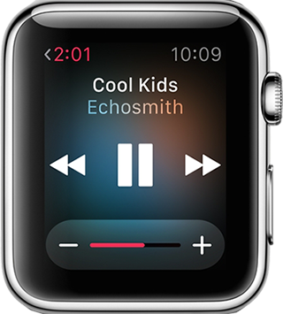 Synchroniser musique vers Apple Watch