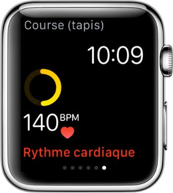 Vérifier/mesurer le rythme cardiaque