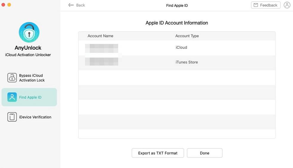 Trouver votre Apple ID
