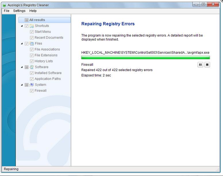 Réparation des erreurs du registre sous Windows 10