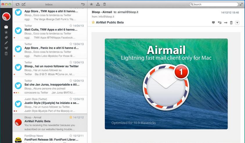 Meilleures Apps pour El Capitan – Airmail