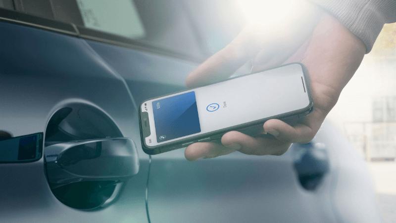 Clés de voiture iPhone