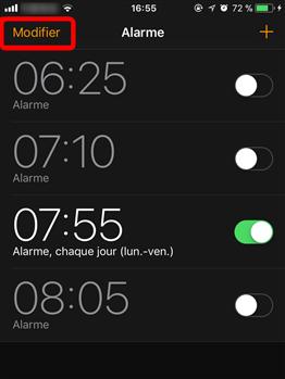 Comment changer la sonnerie d'alarme sur iPhone