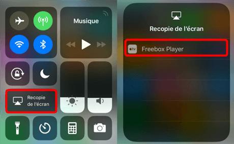 Choisissez Freebox Player