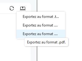Choisissez le format Messages