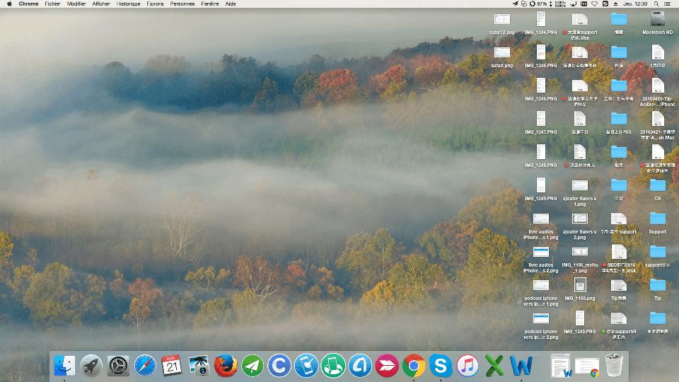 Nettoyage de votre bureau pour accélérer votre Mac