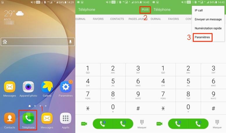 Comment bloquer un contact sur Samsung - étape 1