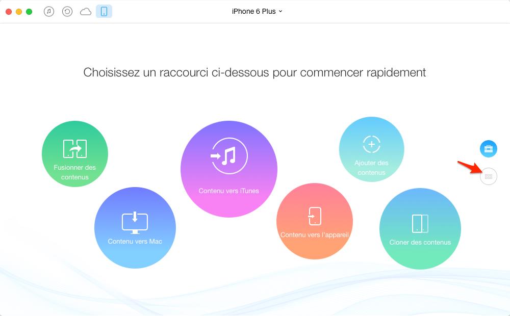Comment faire pour convertir MP3 à sonnerie pour iPhone - étape 1