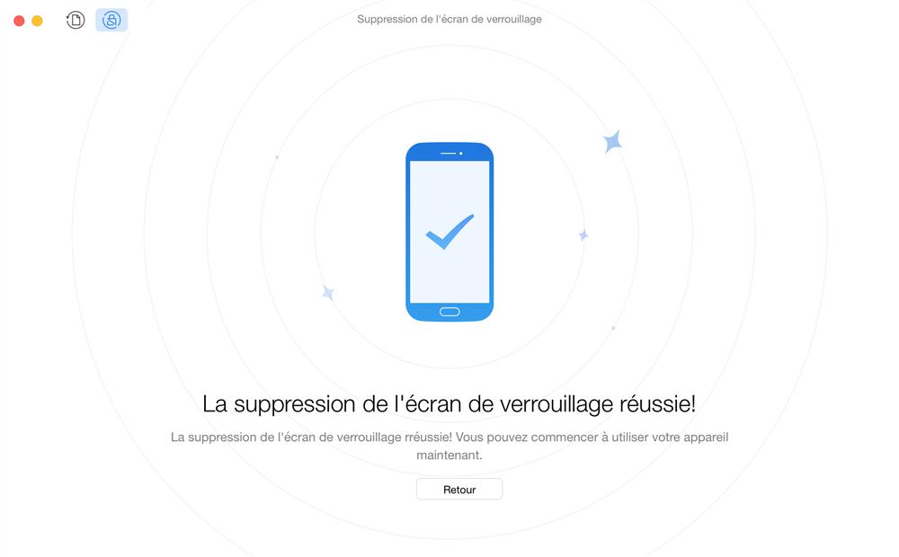 Comment débloquer Android bloqué sur le code – étape 3