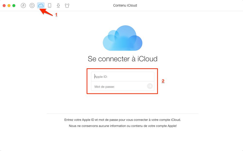 Comment exporter les contacts sur iCloud – étape 2
