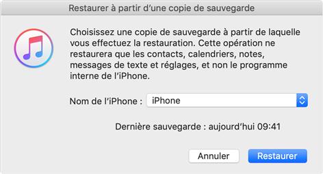 Déverrouiller un iPhone à écran cassé - étape 2