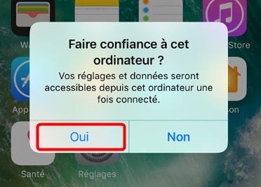Comment transférer les photos d'iPhone vers Windows 7/8/10/XP – étape 1