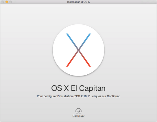 Télécharger et installer El Capitan sur votre Mac