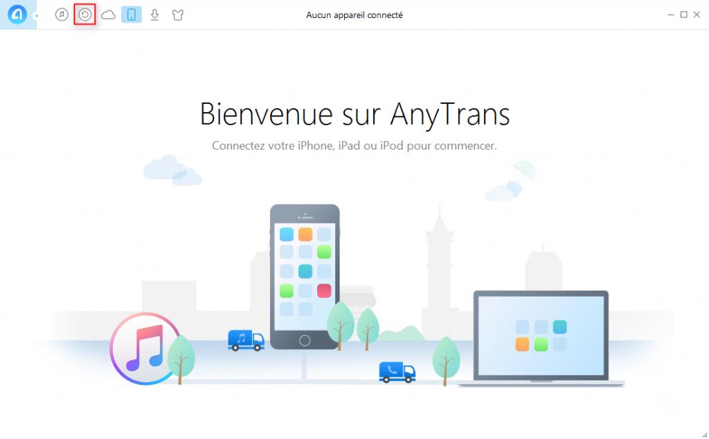 Comment lire la sauvegarde iTunes iPhone 7/7Plus sur PC -étape 1