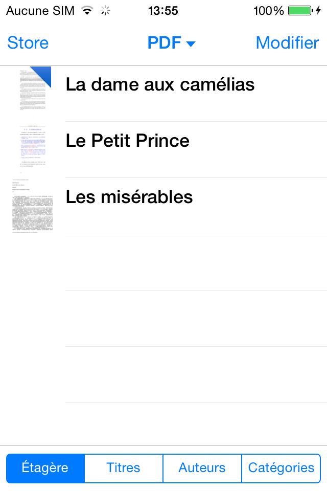 Enregistrer PDF sur iPhone avec succès
