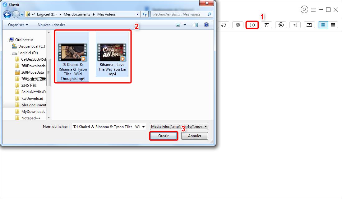 Comment transférer des vidéos d'ordinateur vers iPad – étape 3