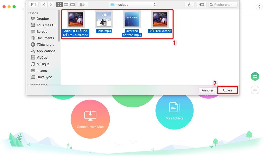 Moyen facile de mettre des sonneries sur Samsung - étape 2