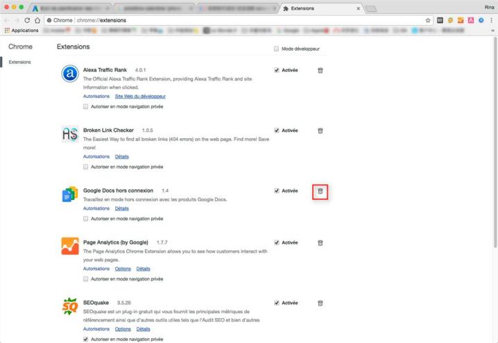 Comment supprimer des extensions malveillantes de Chrome