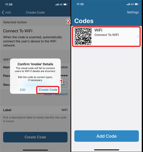 Partager le mot de passe Wlan iPhone au smartphone Android