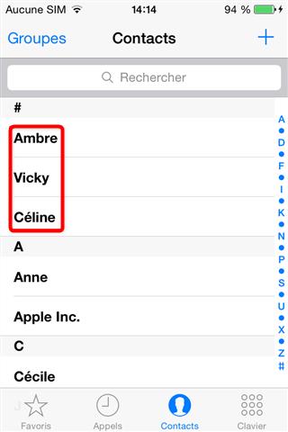 Récupération de données iPhone terminé