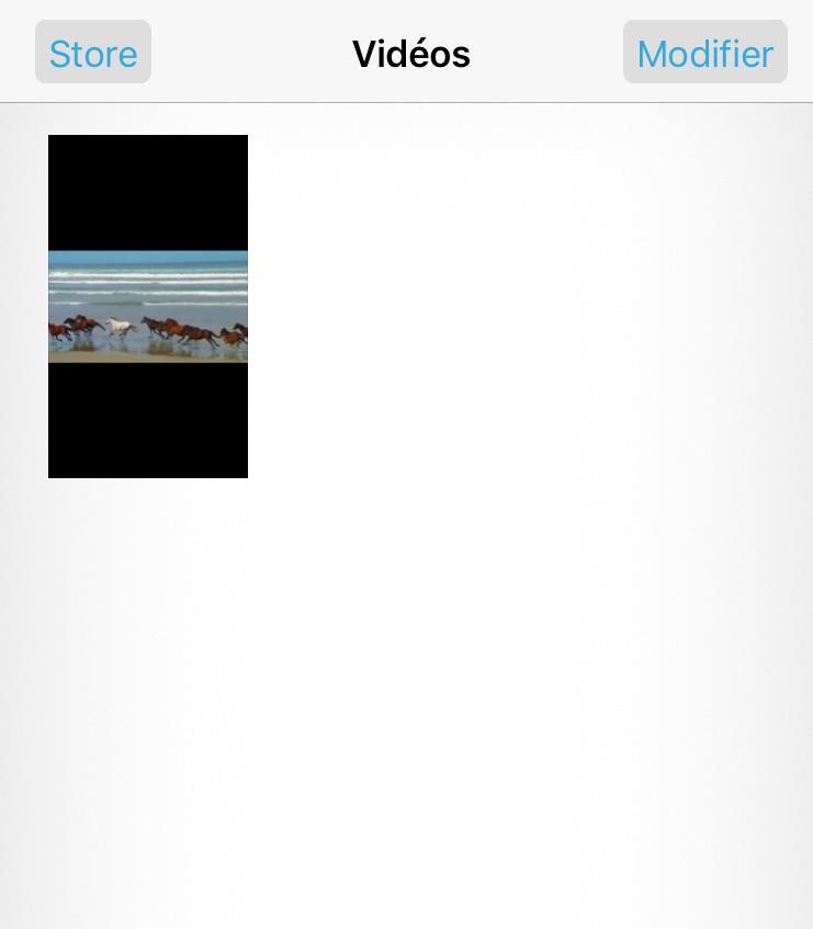 Retrouver les vidéos perdues iPad – étape 4