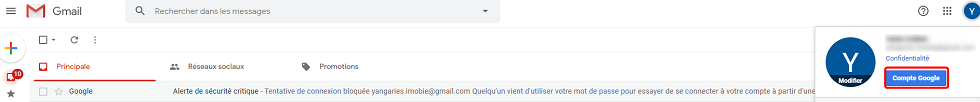Recuperer contact supprimé android sur Gmail
