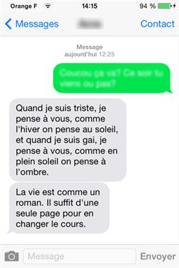 Comment récupérer les SMS perdus d'un numéro bloqué iPhone – étape 4