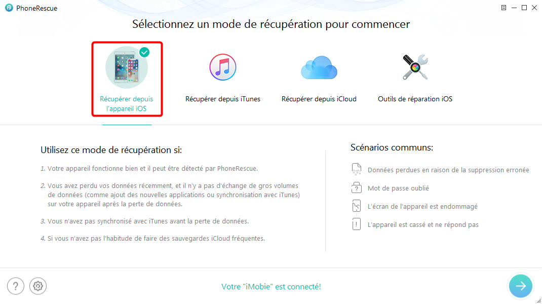 Comment récupérer les photos iPhone cassé sans iTunes