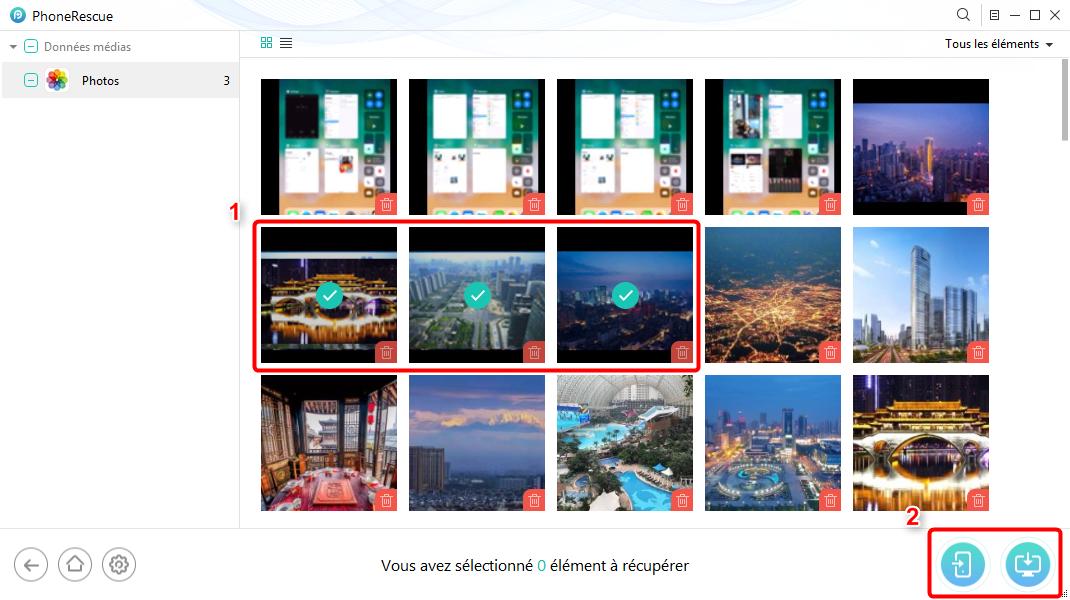 Comment récupérer des photos de Snapchat supprimées sur iPhone – Étape 3