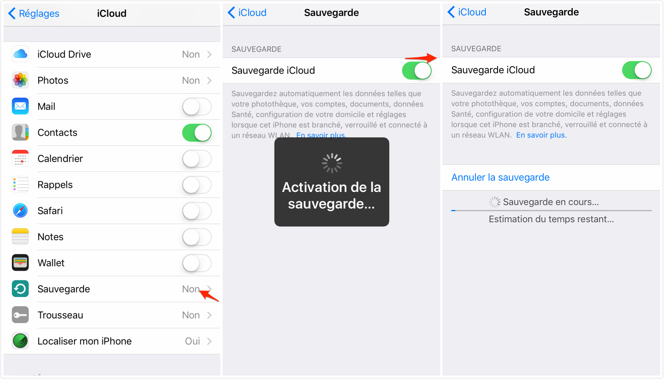 comment enregistrer conversation iphone ios 7