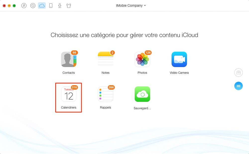 Comment supprimer les calendriers depuis iCloud – étape 2