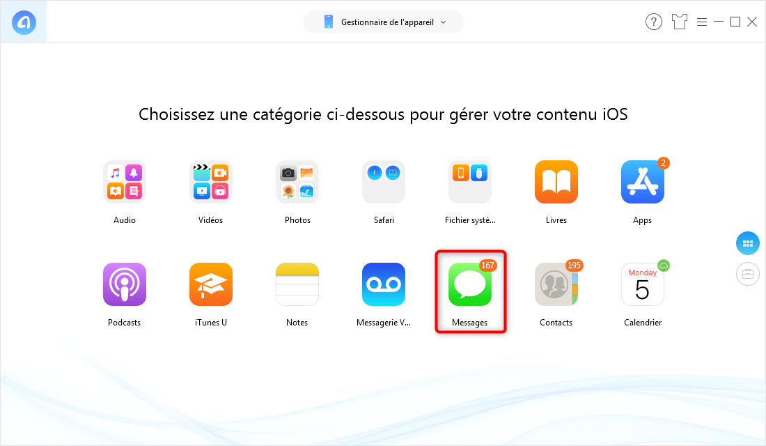 Comment synchroniser iPhone avec iPad - étape 2