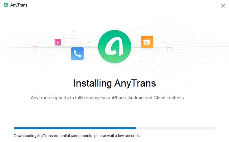 InstallerAnyTrans pour Android sur votre Mac