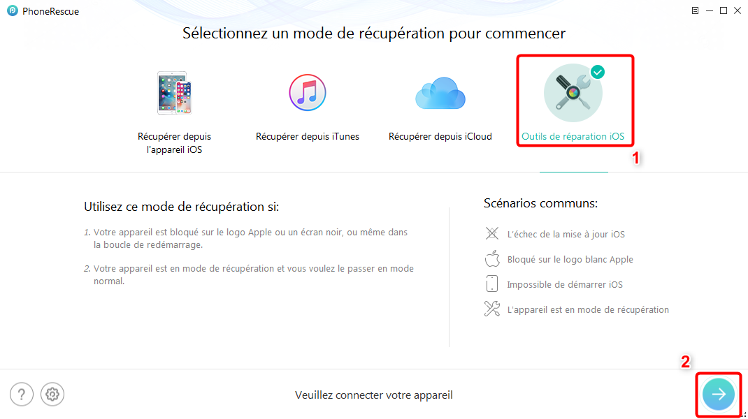 Comment faire pour l'échec de la mise à jour iOS 12
