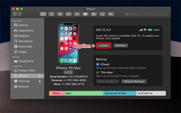 Mettre à jour iOS 12 vers iOS 13 bêta