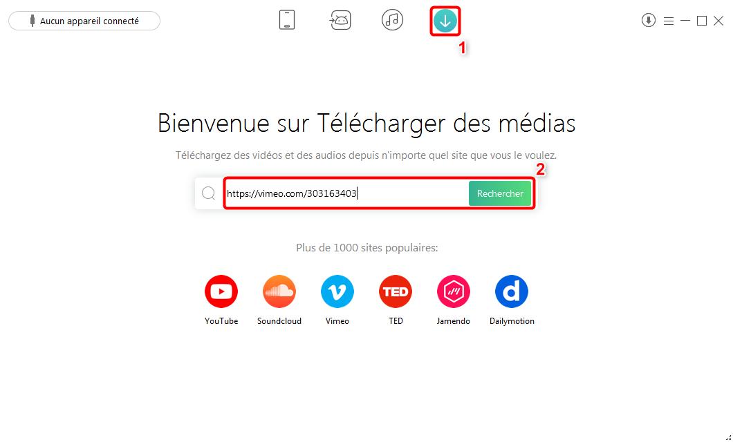 Télécharger les vidéos par lien directement