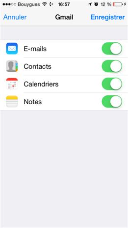 Transférer les données depuis iCloud vers Samsung Galaxy S10