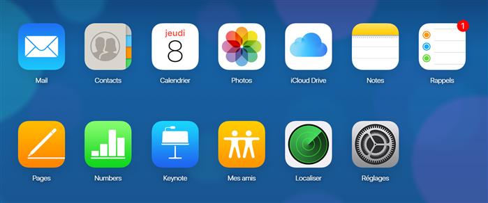 Transférer des données iPhone vers le nouvel ordinateur PC via iCloud