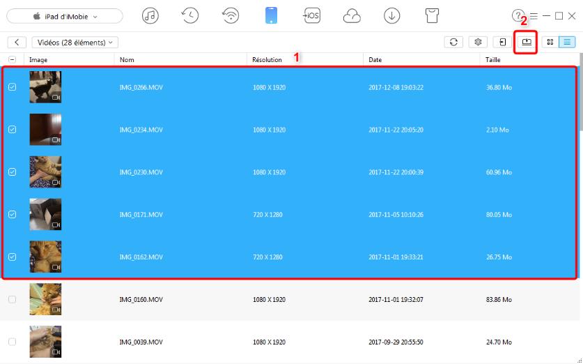 Comment transférer des fichiers iPad vers PC avec AnyTrans pour iOS