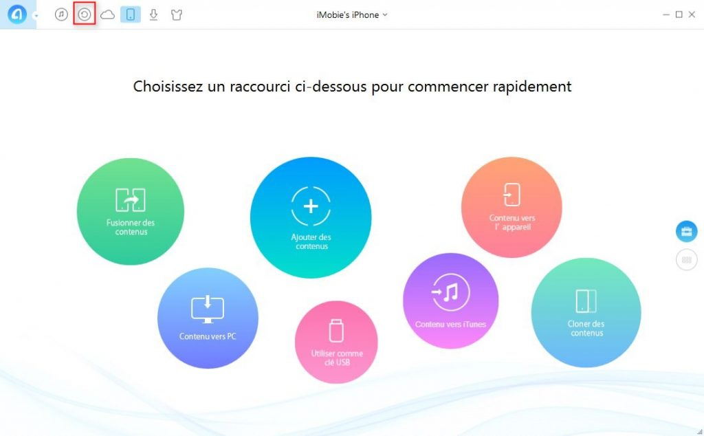 Façon de transférer iTunes U iTunes vers iPhone – étape 1