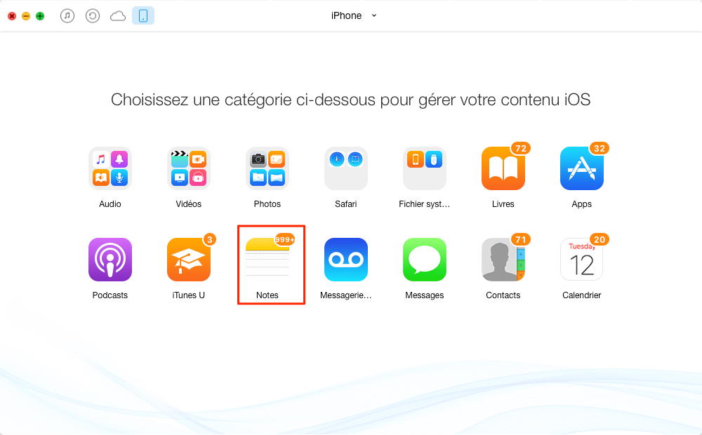 Comment transférer les notes de votre iPad vers le Mac - étape 2