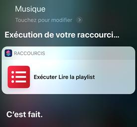 Comment ajouter le raccourci à Siri