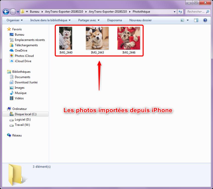 Comment voir vos photos iPhone sur pc - étape 5