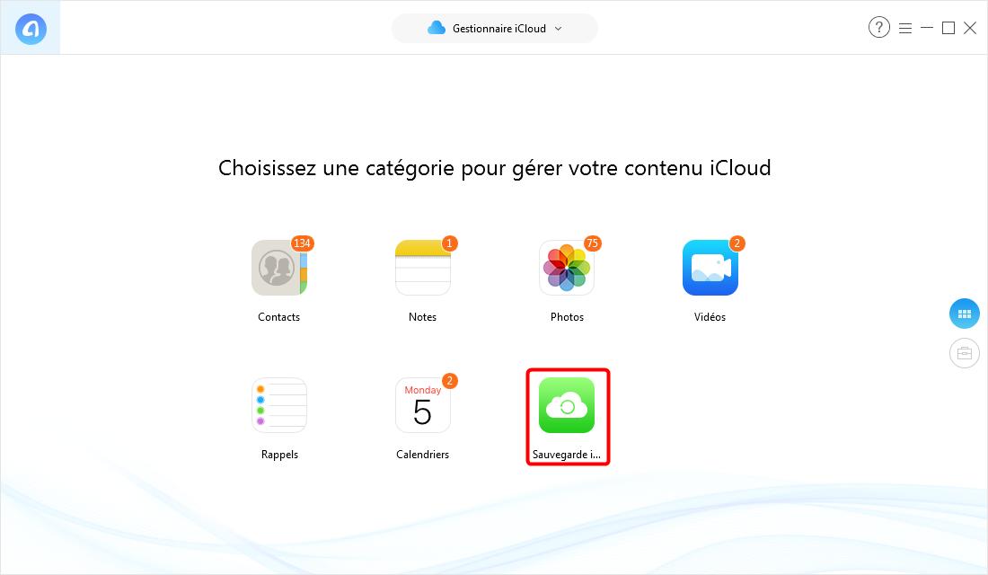 Comment voir et extraire la sauvegarde iCloud