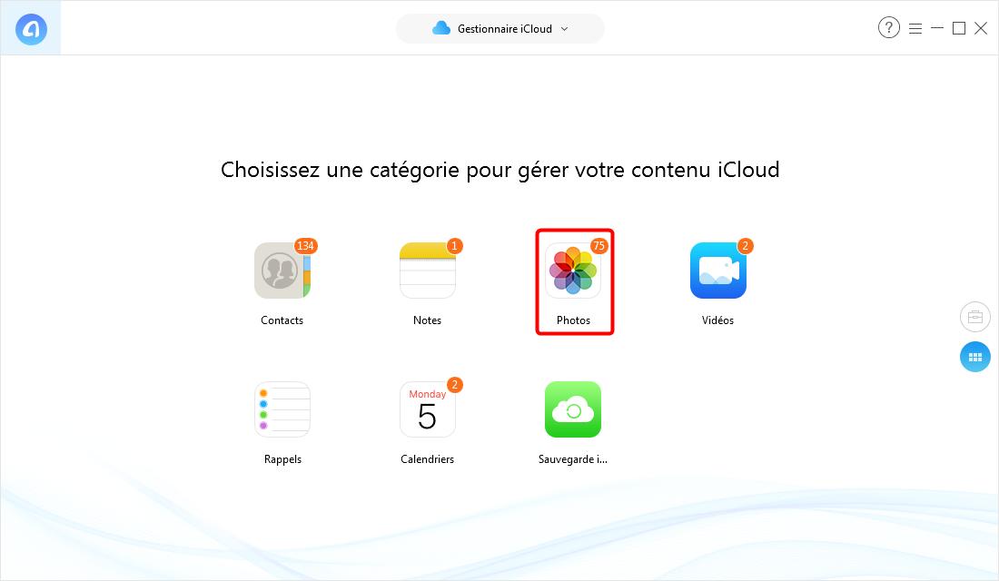 Comment voir des photos sur iCloud – étape 2